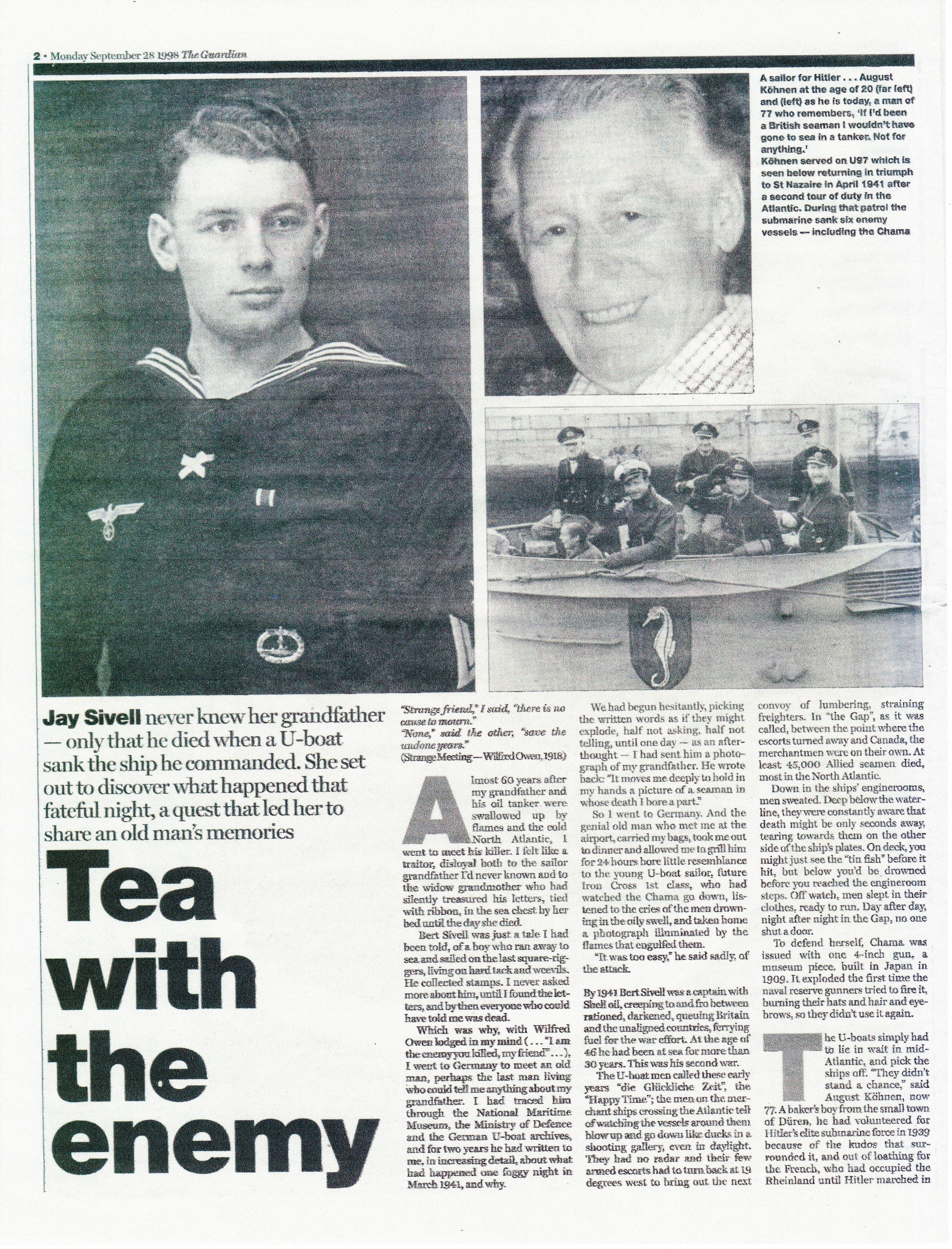 U-boat interview